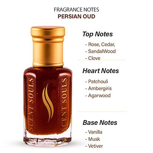 Scent Souls Persian oud Long Lasting Attar Fragrance Perfume Oil For Men & Women- 6 ml