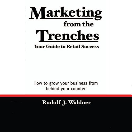 Marketing from the Trenches audiobook cover art