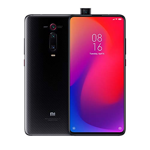 "Xiaomi Mi 9T Pro – Smartphone con Pantalla AMOLED Full-Screen de 6,39"" (Qualcomm SD 855, Selfie Pop-up, Triple Cámara de 13 + 48 + 8 MP, 4000 mAh, con NFC, 6+128 GB), Negro carbón [Versión española]"