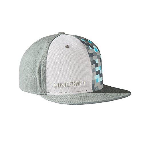 Minecraft–Diamond ajustable sombrero gris