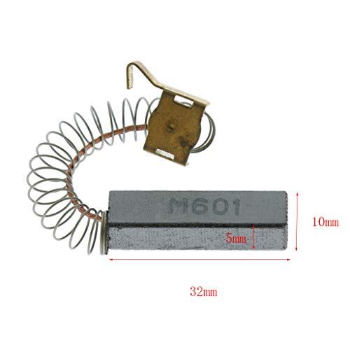 sourcingmap/® Escobillas de carb/ón par parte de repuesto herramienta el/éctrica 5mm x 8mm x 15mm