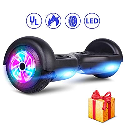 "LIEAGLE 6.5"" Hoverboard Self Balancing Scooter Hover Board with Wheels LED Lights & UL2272 Certifiedfor Kids Adults"