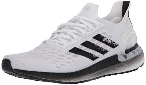 adidas Women's Ultraboost Personal Best Running Shoe, White/Black/Dark Grey, 7 M US