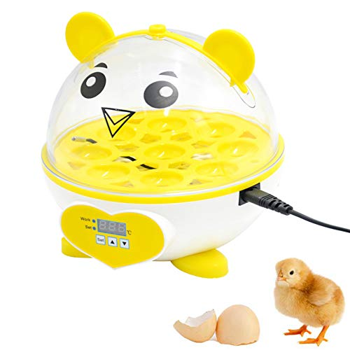 MiaoKa Egg Incubator,with Automatic Egg Turning,for Hatching Eggs Bird Poultry Chick Hatcher by Backyard Farm