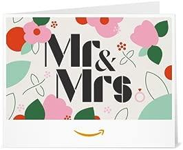 Amazon Gift Card - Print - Mr&Mrs