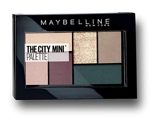 Maybelline New York The City Mini Lidschatten-Palette, 540 Diamond District, Beige
