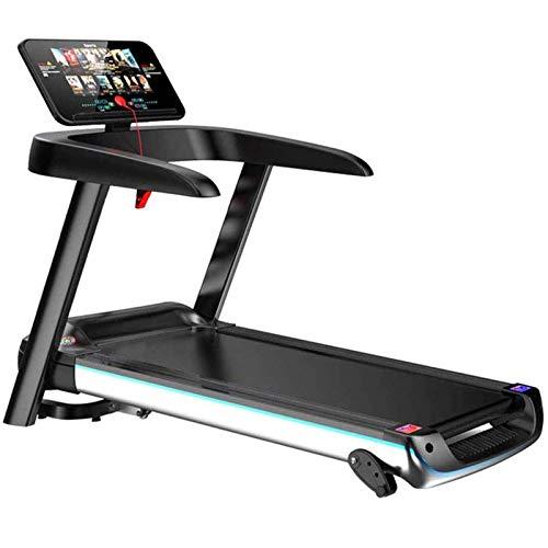 Cinta de Correr motorizada con Control de aplicación Pantalla LCD Dispositivo de Ejercicio eléctrico Bicicleta estática, Multifuncional, Plegable, Equipo Deportivo para Perder Peso