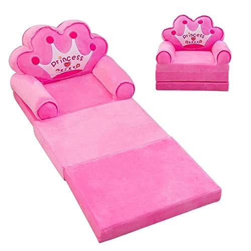 Poltrona pieghevole 2 in 1 per bambini, divano letto lavabile pigro divano letto per bambini, per soggiorno camera da letto, A