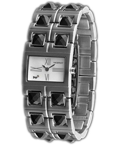 Viceroy 46544-13 - Reloj Señora top piedras facetadas negro