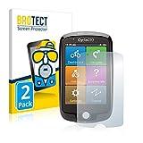 BROTECT 2X Entspiegelungs-Schutzfolie kompatibel mit Mio Cyclo 210 Bildschirmschutz-Folie Matt, Anti-Reflex, Anti-Fingerprint