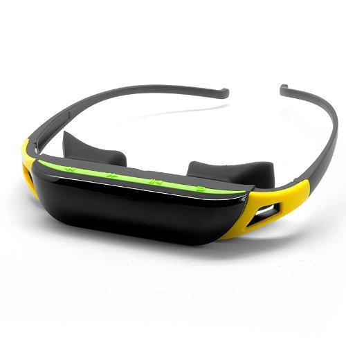Gafas de vídeo virtual Private mobile Theater de con 84pulgadas panorámico de la pantalla
