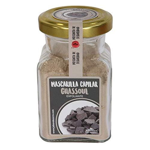 Jabón Zorro D'Avi | Mascarilla de Arcilla de Ghassoul en Polvo | 150 ml | Mascarilla Facial y Capilar | Limpia y Purifica | Pieles y Cabellos Grasos | Ecológica y Vegana | Fabricado en España