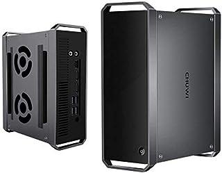 CHUWI CoreBox ミニPC Core i5-5257U 小型PC 8GBメモリー 256GB SSD プロセッサー Windows10 高速Wi-Fi/BT4.2/Type-A/USB 3.0搭載 ファン二つ 最大3.1GHz 静音 ...