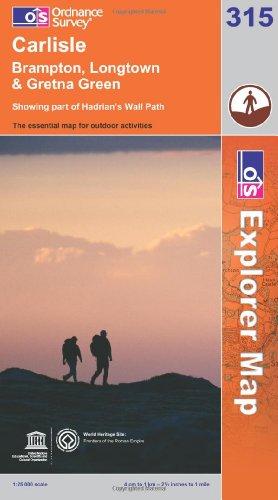 OS Explorer map 315 : Carlisle