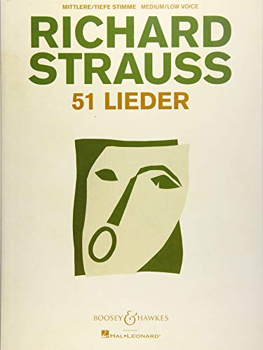 51 Lieder: For Medium/Low Voice and Piano
