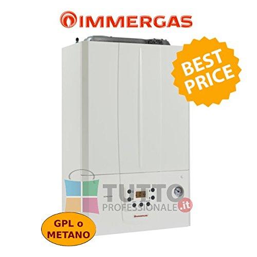 Immergas caldaia a condensazione Victrix Tera 24KW, a Metano, Bianco