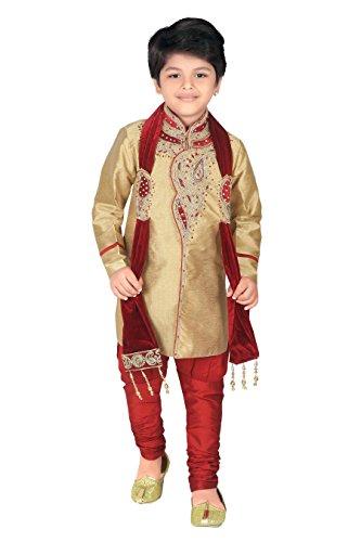 Ahhaaaa Kids Ethnic Wear Handwork Embroidery work Sherwani and...