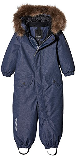NAME IT Unisex Baby NITMEDENIM Snowsuit MZ FO Schneeanzug, Blau (Dress Blues), 80