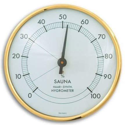 Sauna-Hygrometer gold weiß 2, BL-05TFA