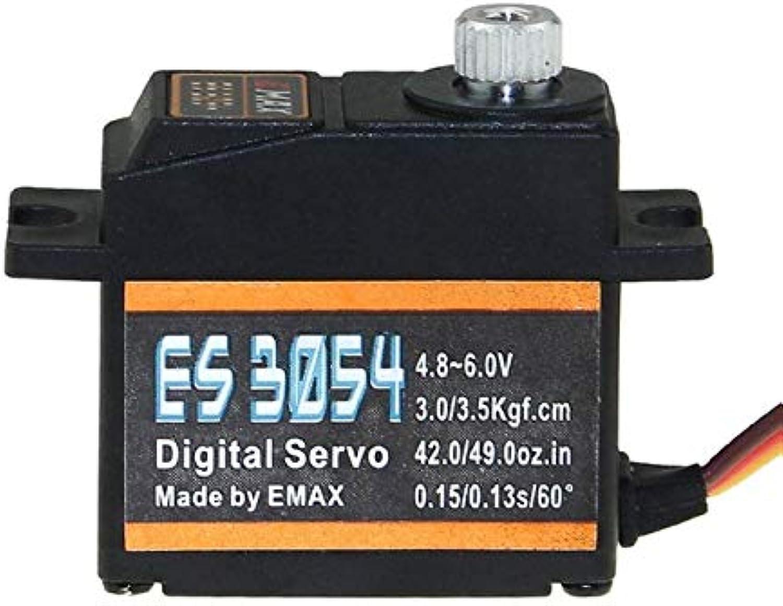 Laliva Digital Metal Servo ES3003 ES3004 ES3053 ES3054 17g Metal Gear for RC FPV Fixed Wing Airplane Copter Drone - (color  ES3054)