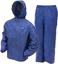 Frogg Toggs Ultra-lite2 Rain Suit W/stuff Sack - Medium, Blue