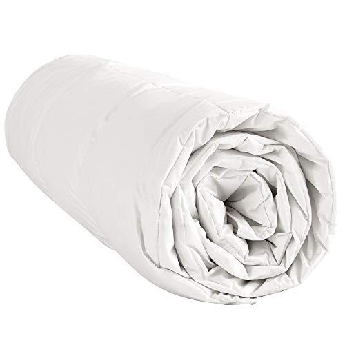 puredown® Sommer Bettdecke, 200x200cm Daunendecke mit 60% Daunen, Gänseflaum Bettwäsche, Sehr Dünn Leicht und Weich, Öko-Tex