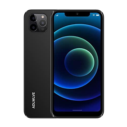 Smartphone Offerta del Giorno 4G, 6.3 HD+ Android 9.0 3GB RAM +32GB ROM 128GB Espandibili Cellulari Offerte 4600mAh Dual SIM Cellulari e Smartphone 8MP Fotocamera Face ID Telefonia Mobile (Nero)