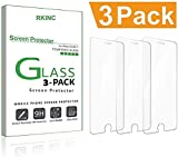 RKINC For iPhone 5 5S SE 5C Screen Protector, Tempered Glass Screen Protector