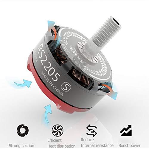 Gogh RS2205S Brushless Motor Dshot BLS 30A ESC Power Kit für 200-250 Rennen Drone, Multi-Rotor Powerkombination, Vier-Achsen-Fernbedienung Flugzeug Zubehör 3 Sets,RS2205S~2600KV