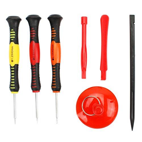TKTK Reparatur-Tools JF-875 7-in-1 Reparatur-Werkzeug-Set für Telefone