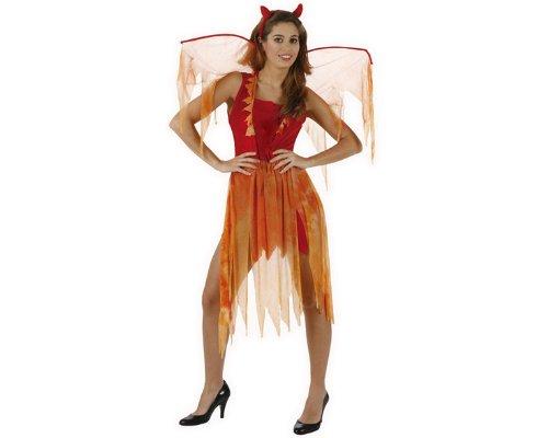 Atosa 98825 - Disfraz de diablesa para mujer