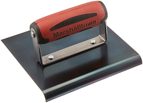MARSHALLTOWN Concrete Edger 6' X 6' Blue Steel 3/8R 1/2L Handle