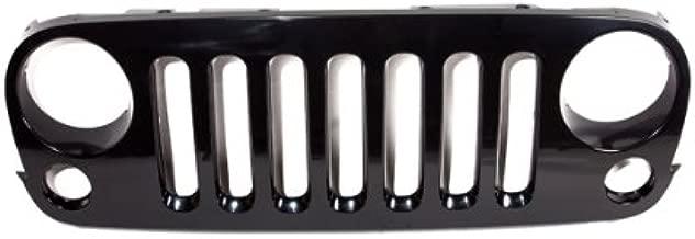 CarPartsDepot, Front Grille Upper Body Parts Black, 400-261694 CH1200313 1GR22DX8AA
