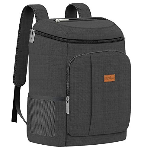Fly-By - Mochila nevera impermeable, 30 L, gris