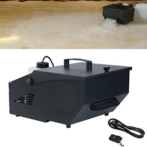 Tengchang 1200W Low Lying Fog Machine DMX Sinking Smoke Machine for Party Halloween Live Show Concert Theater