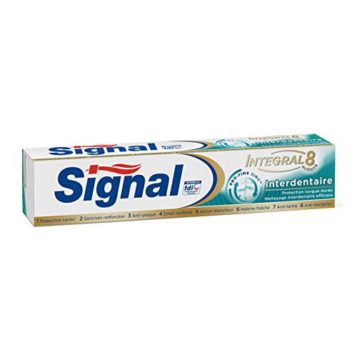 Signal Zahnpasta - Integral 8 Interdental - 6er Pack (6 x 75 ml)