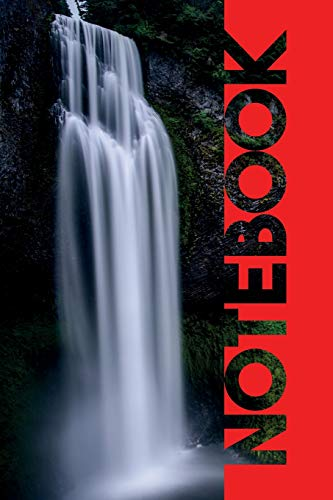 Notebook: Cascada Compact Composition Book for Waterfalls near me
