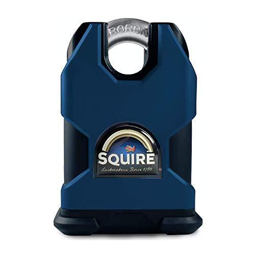 Henry Squire Stronghold 6 Pin S Cilinder Gesloten Shackle Steel Hangslot Gesloten beugel stalen hangslot 55 mm