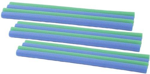 HUDORA Ersatz Schaumstoffrohre mit 25/26mm Innendurchmesser für bis zu 8 Stangen (12 Stück)