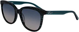 Karl Lagerfeld Rectangular KL968S Green Sunglasses for Women
