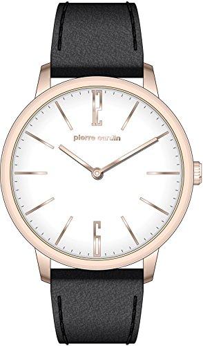 Pierre Cardin Reloj Analogico para Hombre de Cuarzo con Correa en Cuero PC106991F27