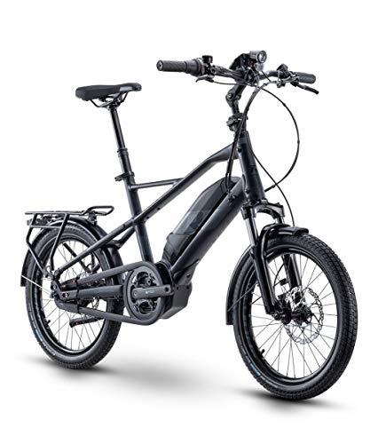RAYMON CompactRay E 4.0 Compact Pedelec E-Bike Fahrrad schwarz 2021