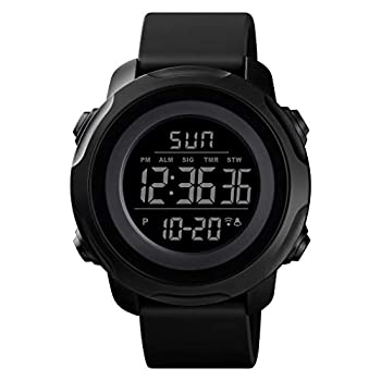 Men s Digital Sports Watch Military Electronic Waterproof Wrist Watches for Men with Stopwatch Alarm LED Backlight
