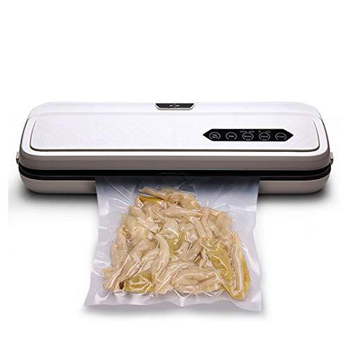 Lebensmittel Vakuumierer Maschine für Food Saver mit 10 Stück Taschen Startseite Elektro Vakuumierer Verpackungsmaschine,12white