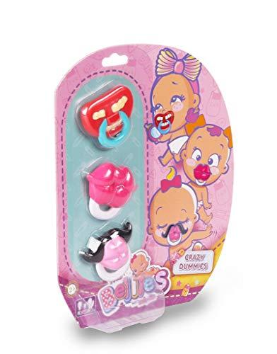 The Bellies - Crazy Dummies, chupetes Divertidos Bellies, Accesorios muñecas para niñas y niños a...