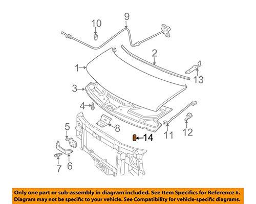 99–14Express Savana Impala Uplander Traverse campana Buffer parachoques tapón OEM nueva 10277069
