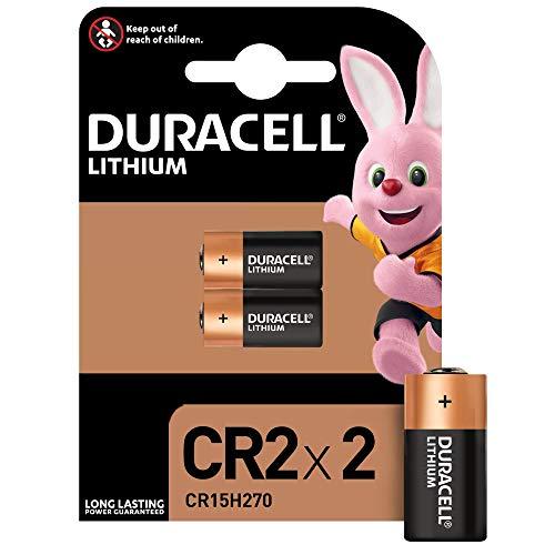 Duracell CR2 Pile lithium haute puissance 3V, pack de 2 (CR15H270), pour capteurs, verrous sans clé, flashs d'appareil photo et lampes de poche