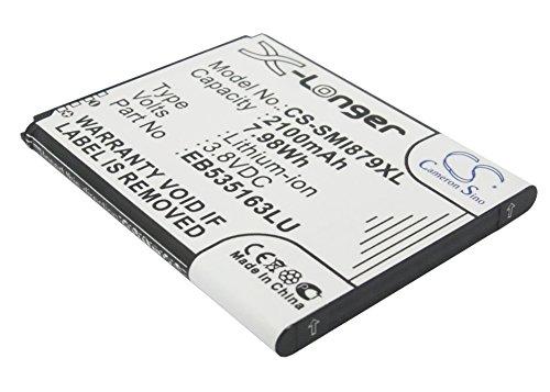CS-SMI879XL Batería 2100mAh Compatible con [Samsung] Galaxy Grand, Galaxy Grand Duos, Galaxy Grand Lite, Galaxy Grand Neo, GT-I9060, GT-i9080, GT-i9082, GT-I9082I, GT-I9128, GT-I9128V, Note II Mini,