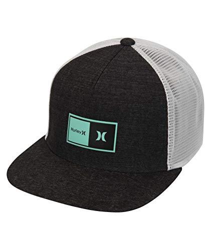 Hurley M Natural 2.0 Trucker Hat Gorra, Hombre, dk Smoke Grey, 1SIZE