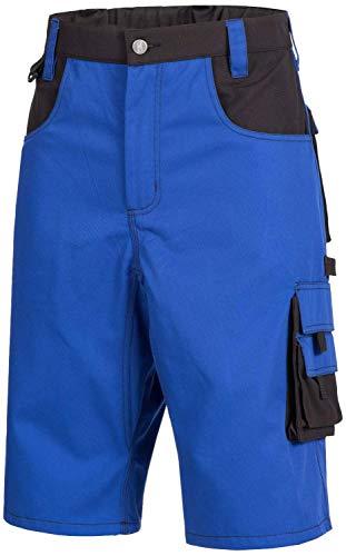 Nitras 7601 Männer-Arbeitshosen Kurz - Shorts für die Arbeit - Blau - 68